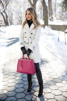 Street style winter fashion...Fashion Estate - Gal Meets Glam: The Classics