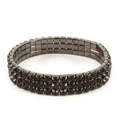 cool Sigrid Glitzy Bracelet(Black)