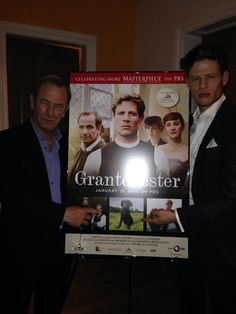 Robson Green & James Norton