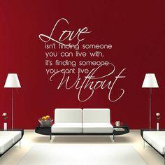 Love Without Sticky Stencil by Jennastencils on Etsy