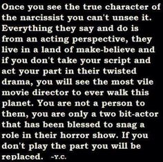 Once You See The True Character of The Narcissist Narcissistic People, Narcissistic Mother, Narcissistic Behavior, Narcissistic Abuse Recovery, Narcissistic Personality Disorder, Narcissistic Sociopath, Abusive Relationship, Toxic Relationships, Relationship Tips