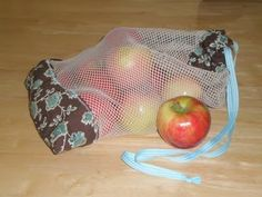 Scrapppy Reusable Produce Bag this is a neat idea and seems easy to make