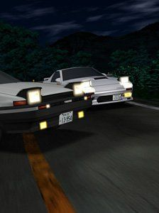 Initial D: the multi-season anime saga of one driver's rise to the top of the underground racing world. For devoted fans all across the globe, Initial D is as good as it gets. Just remember – Life's a blur. Live it fast. Takumi's nights working as the delivery boy for his dad's tofu shop turned him into a formidable driver. His determination to be the best turned him into a street racing legend. Behind the wheel of his modified Eight-Six, he's one with the road, schooling all comers with ...