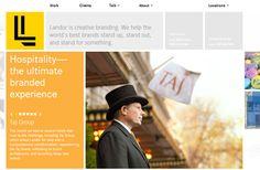 yellow flat website blocks ui design