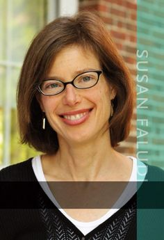 Susan Faludi, author of BACKLASH and other books. Met her at Kent State. Awesome.