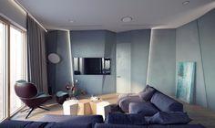 Mid-Century-Living-Room-with-Stunning-Lighting-Designs-in-Moscow-9 Mid-Century-Living-Room-with-Stunning-Lighting-Designs-in-Moscow-9
