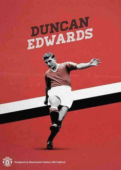 Duncan Edwards of Man Utd wallpaper.
