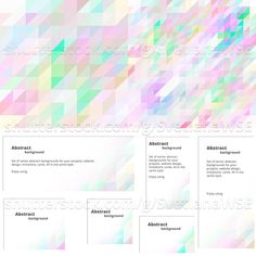 Colorful background for design in pastel colors. To obtain an invitation, greeting card, website. Set of banners #design #colorful #geometric #graphic #template #wallpaper #gradient #vector #mosaic #background #shutterstock #fotolia #banner http://buff.ly/2dtg4c3 Shutterstock Image ID: 431579479 http://buff.ly/2dtfRW4 Fotolia Image ID: 112024234