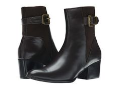 Womens Boots Vaneli Catina Tmoro Nappa/Tmoro Elastic