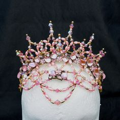 Image result for how to make a ballet beaded tiara