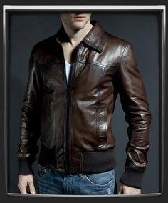 The Deal - men\'s Jacket in Vintage Leather style by Soul Revolver