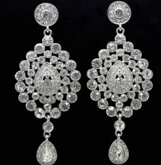High Quality Platinum Gold Plated Rhinestone Indian Style