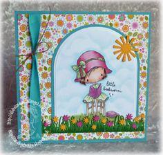 All Dressed Up Image: Little Bookworm, Paper: Doodlebug Design Springtime, Copics, Lil' Inkers Designs Sun die