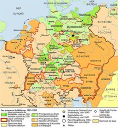 Les princes et la Réforme, 1531-1555