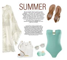 """""""lovely summer"""" by arianna-atzori ❤ liked on Polyvore featuring Calypso St. Barth, Billabong, Prism, River Island, Marc by Marc Jacobs, Eos and lovelysummer"""