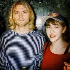 Kurt with a fan 1993