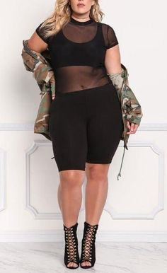Black big girl fashion, curvy fashion, urban fashion, plus size fashion, wo Summer Fashion Outfits, Short Outfits, Fall Outfits, Casual Outfits, Cute Outfits, Casual Wear, Plus Size Concert Outfits, Plus Size Outfits, Curvy Fashion