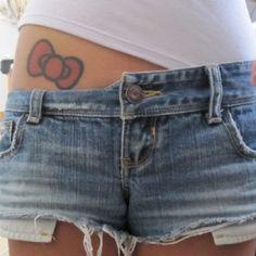 Hello Kitty tattoo @T.. Ty Foster