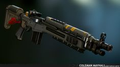 Cosplay Weapons, Sci Fi Weapons, Concept Weapons, Weapons Guns, Shotguns, Firearms, M1a Socom, Future Weapons, Tac Gear