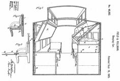 Pullman Sleeping Car Patent