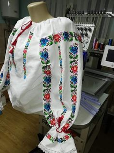 Shirt Designs, Mary, Costumes, Traditional, Embroidery, Sweaters, Shirts, Women, Fashion