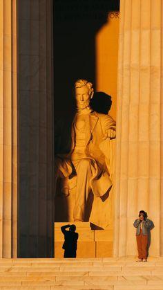 Lincoln Memorial, Travel Guides, Washington Dc, Sunrise, Memories, Movie Posters, Photography, Memoirs, Souvenirs
