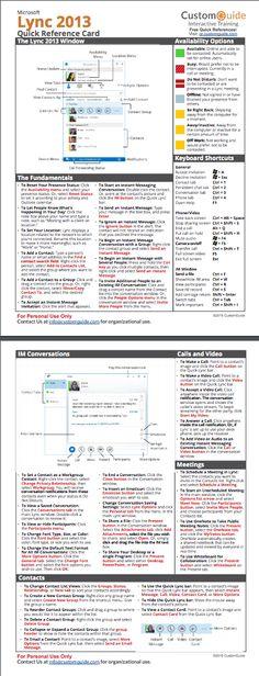 internet explorer 11 quick reference card http www customguide rh pinterest com microsoft lync 2010 quick reference guide Microsoft Office 2010 Reference Guide