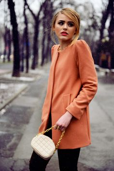 ee24cf0d Zara really does sell the best minimalist coats Fashion Moda, Work Fashion,  Fashion Beauty