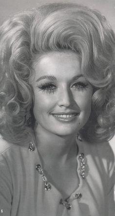Dolly Parton, you're so pretty.