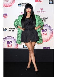 Nicki-Minaj /Les  plus beaux looks des MTV EMA 2014