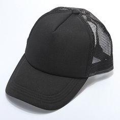 Men Women DIY Custom Logo Hip Hop Hat Mesh Baseball Cap Advertising Cap