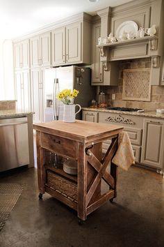 Kitchen Island 36 X 24 cooper kitchen island, single, vintage spruce $1495 | kitchen