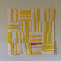 Heather Jones Studio -- improv quilt