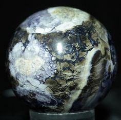 "Tiffany Stone Sphere, Utah, 2.75 "" in diameter. Available @ www.RocknSpheres.com"