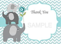 Printable editable files ~ elephant boy baby shower invitation and thank you card . Elephant baby boy shower invitation and thank you card ~ You Can Edit Text yourself ~ INSTANT DOWNLOAD . ►You change and edit text ~ You edit text yourself◄ You can easily edit text with the Adobe