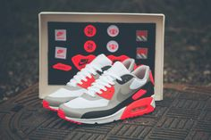 """buy popular 0825d dfaa9 Nike Air Max 90 OG Infrared - """"Patch Pack"""