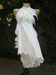 Pareo. Fabric pareo. Edges crochet lace. Cotton by MUNIVERSE, $29.00