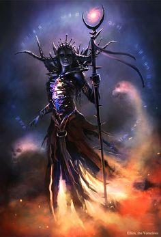 female demon Sixth Race - Ellira, the Voracious by bpsola.deviantart.com on @deviantART