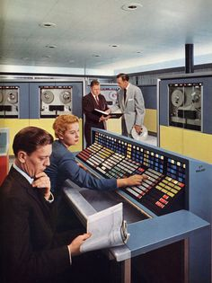Computation in the 1960s!        … big computers! (by x-ray delta one)