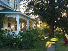 Century home, Prince Edward Island, Canada.