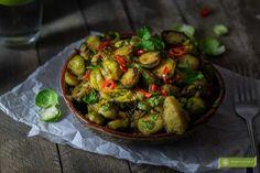 Thai Recipes, Sprouts, Vegetables, Food, Tiramisu, Recipe, Essen, Thai Food Recipes, Vegetable Recipes
