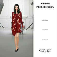 Press interviews. Covet fashion Jet set