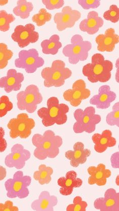 Flower Lesbian Flag Subtle Wallpaper