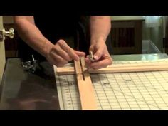 Making and Assembling an Adjustable Silk Painting Frame