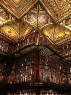 scentdelanature:  Beautiful Libraries…The Morgan Library and Museum, New York