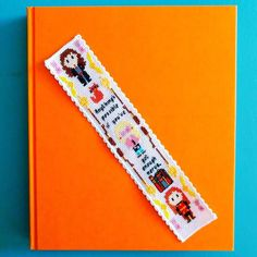 Enough Nerve Cross Stitch Bookmark Pattern - Modern Harry Potter Inspired Embroidery Pattern - Hermione Luna Ginny Bookmark by HouseElfStitchery on Etsy https://www.etsy.com/listing/528457473/enough-nerve-cross-stitch-bookmark