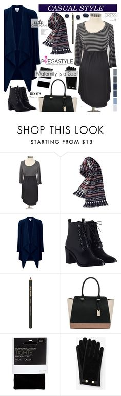"""Winter style.Casual dress - Pregastyle 34"" by cly88 ❤ liked on Polyvore featuring Motherhood Maternity, Uniqlo, Pure Collection, Zimmermann, INIKA, M&Co, John Lewis and Ted Baker"