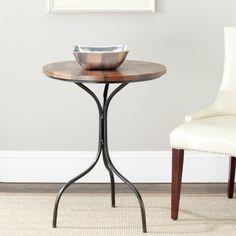Safavieh Vienne Brown Side Table $128