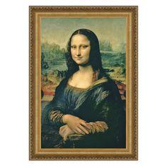 Mona Lisa, 1503-1506 Canvas Replica Painting