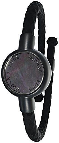 "Michael Kors ""Access Activity Tracker"" Crosby Silicone Black Bracelet - http://www.exercisejoy.com/michael-kors-access-activity-tracker-crosby-silicone-black-bracelet/fitness/"